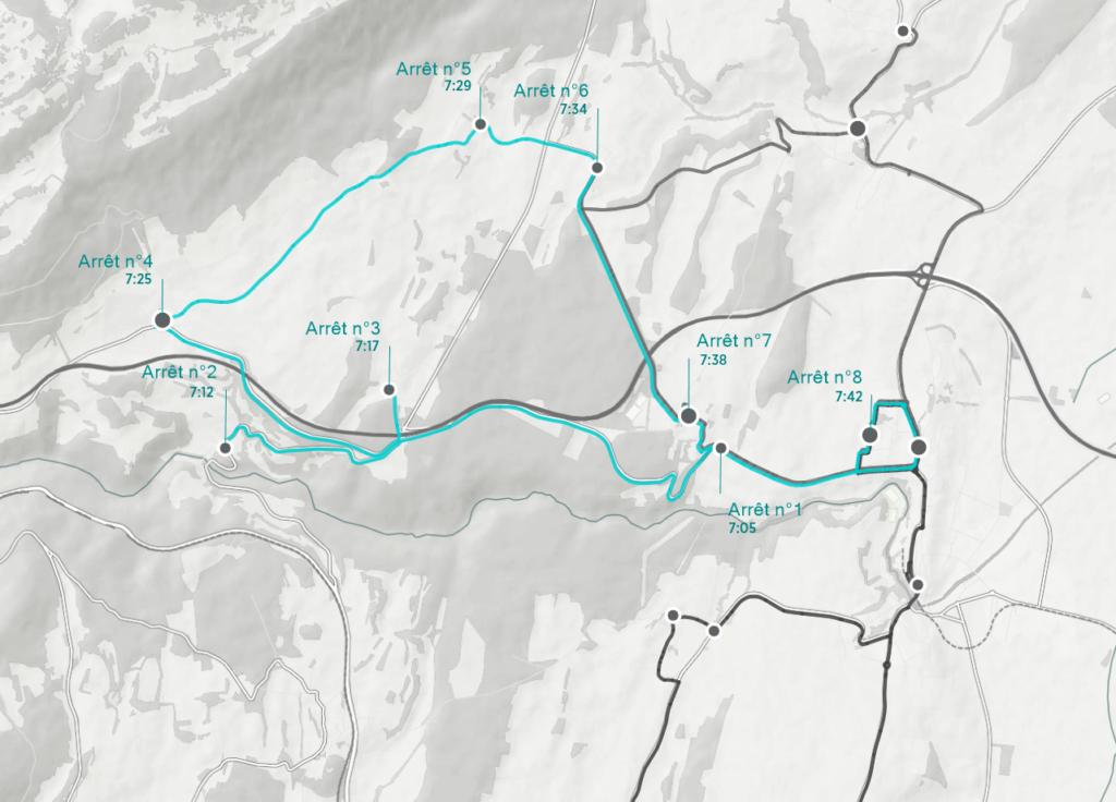 Une optimisation des horaires de vos bus scolaires pour un comfort maximal tout en limitant les kilomètres.